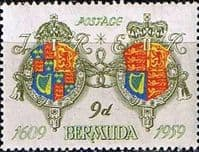Bermuda 1959 350th Anniv of Settlement SG 161 Fine Mint