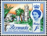 Bermuda 1962 SG 171 Christ Church Warwick 1719 Fine Mint