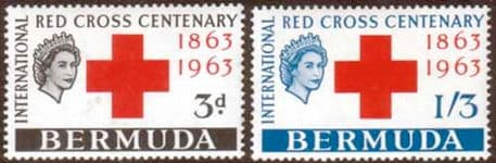 Stamps stamp Bermuda 1963 Red Cross Centenary Fine Mint