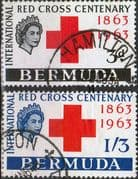 Bermuda 1963 Red Cross Centenary Set Fine Used