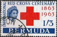 Bermuda 1963 Red Cross SG182 Fine Used