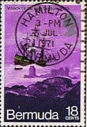 "Bermuda 1971 SG 277 Wreck of the ""Sea Venture Fine Used"