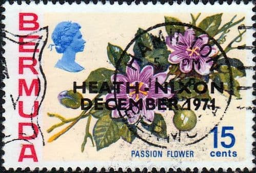 Bermuda 1971 SG 284 Anglo-American Talks on Passion Flower Fine Used