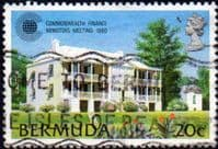 Bermuda 1980 Commonwealth Finance Ministers Meeting SG 427 Fine Used