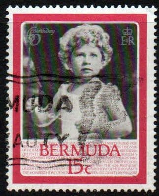 Stamps Bermuda 1986 Queen Elizabeth II 60th Birthday Set Fine Mint