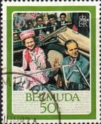 Bermuda 1986 Queen Elizabeth II 60th Birthday SG 526 Fine Used