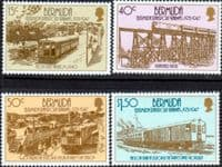 Bermuda 1987 Transport Set Fine Mint