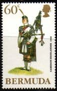 Bermuda 1988 Military Uniforms SG 572 Fine Mint