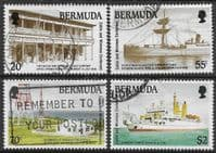Bermuda 1990 Centenary of Cable and Wireless Set Fine Used