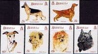 Bermuda 1992 World Congress of Kennel Clubs Set Fine Mint