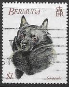 Bermuda 1992 World Congress of Kennel Clubs SG 660 Fine Mint