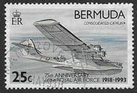 Bermuda 1993 75th Anniversary of Royal Air Force SG 687 Fine Used