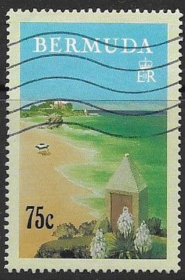 Stamps Bermuda 1993 Tourism Posters by Adolph Treidler Set Fine Mint