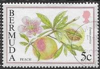 Bermuda 1994 Flowering Fruits SG 702A Fine Used