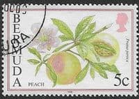 Bermuda 1994 Flowering Fruits SG 702B Fine Used