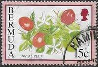Bermuda 1994 Flowering Fruits SG 705A Fine Used