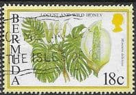Bermuda 1994 Flowering Fruits SG 706A Fine Used