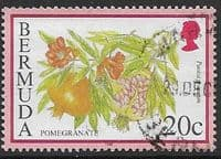 Bermuda 1998 Flowering Fruits SG 797 Fine Used