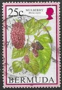 Bermuda 1998 Flowering Fruits SG 798 Fine Used