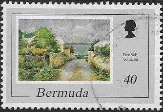 Bermuda 1998 Paintings by Catherine and Ethel Tucker SG 789 Fine Used