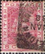 British Guiana 1882 Queen Victoria SG 174 Fine Used