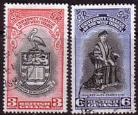 British Guiana 1951 British West Indies University College Set Fine Used