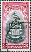 British Guiana 1951 British West Indies University College SG 328  Fine Used
