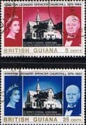 British Guiana 1966 Churchill Set Fine Used