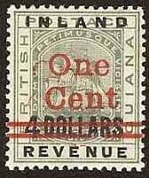 British Guiana Early Issues