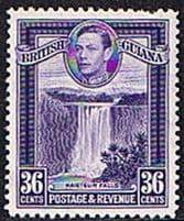 British Guiana King George VI 1937-1952