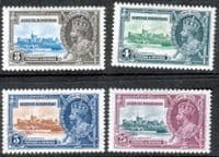 British Honduras 1935 King George V Silver Jubilee Set Fine Mint