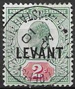 British Levant 1905 British Currency SG L4a Good Used
