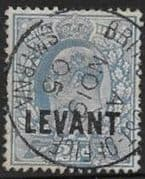 British Levant 1905 British Currency SG L5 Fine Used