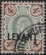 British Levant 1905 British Currency SG L7 Fine Used
