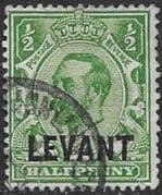 British Levant 1911 British Currency SG L12 Fine Used (1)