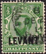 British Levant 1911 British Currency SG L12 Fine Used