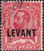 British Levant 1911 British Currency SG L13 Fine Used