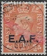 British Post Offices East Africa Force 1943 SG S2 Fine Used