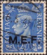 British Post Offices in Africa Middle East Force 1943 SGM 13 Fine Used