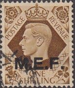 British Post Offices in Africa Middle East Force 1943 SGM 18 Fine Used