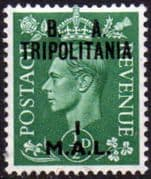 British Post Offices Tripolitania 1950 SG T14 Fine Mint