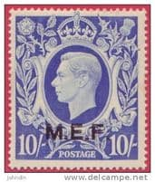 British Postal Agencies for M E F
