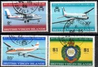 British Virgin Islands 1968 Beef Island Airport Extension Set Fine Used