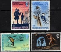 British Virgin Islands 1969 Robert Louis Stevenson Set Fine Used