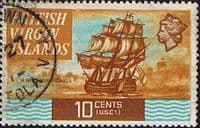 British Virgin Islands 1970 Ships SG 248 Fine Used