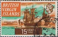British Virgin Islands 1970 Ships SG 250 Fine Used
