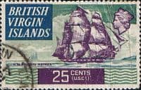 British Virgin Islands 1970 Ships SG 251 Fine Used