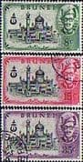 Brunei 1958 Opening of Mosque Set Fine Used