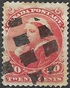 Canada 1893 Queen Victoria SG 115 Good Used