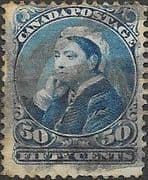 Canada 1893 Queen Victoria SG 116 Good Used